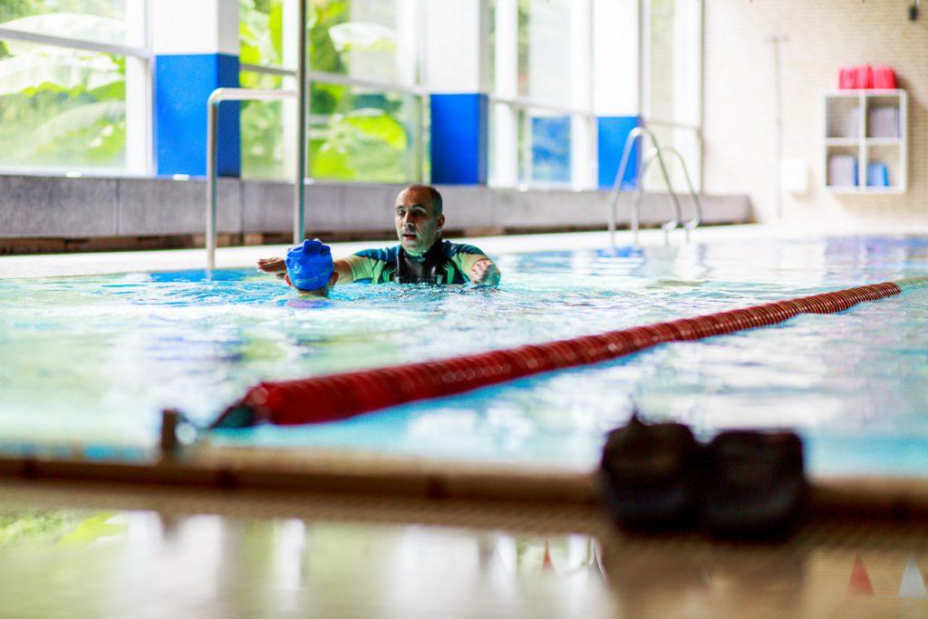 Kinderschwimmunterricht
