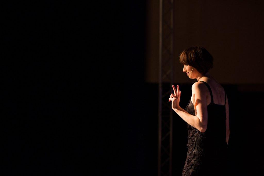 40 Stunden - Anne-Katrin auf der Bühne_1