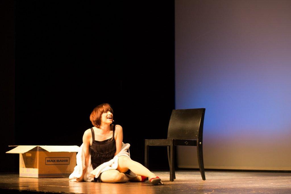40 Stunden - Anne-Katrin auf der Bühne_2