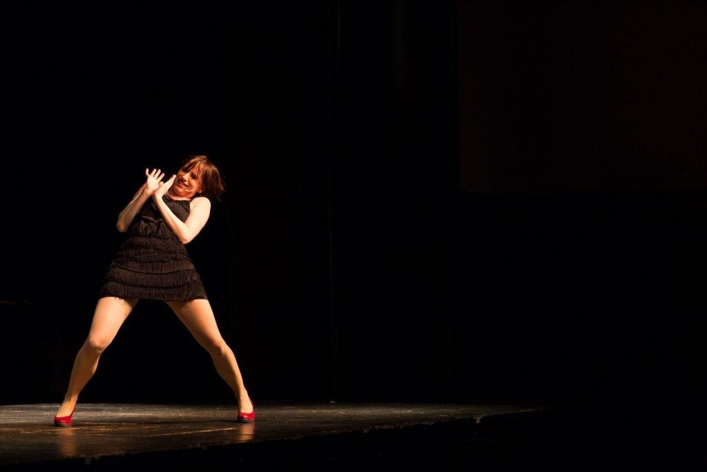 40 Stunden - Anne-Katrin auf der Bühne_3