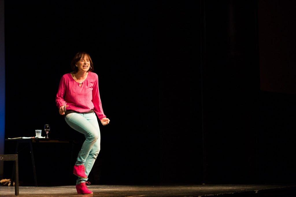 40 Stunden - Anne-Katrin auf der Bühne_6