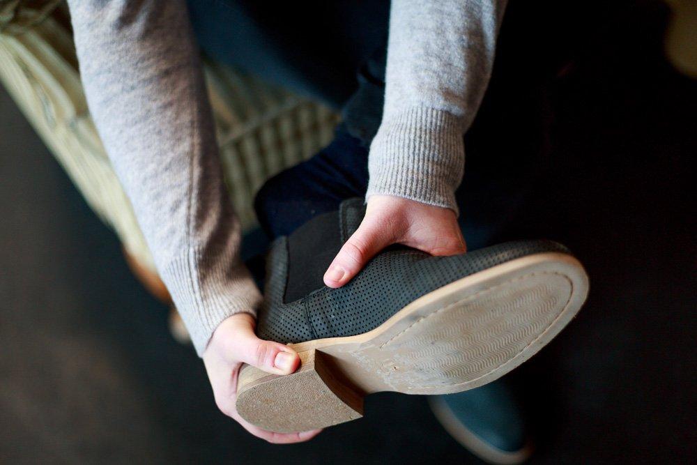 40 Stunden - Julias Schuh