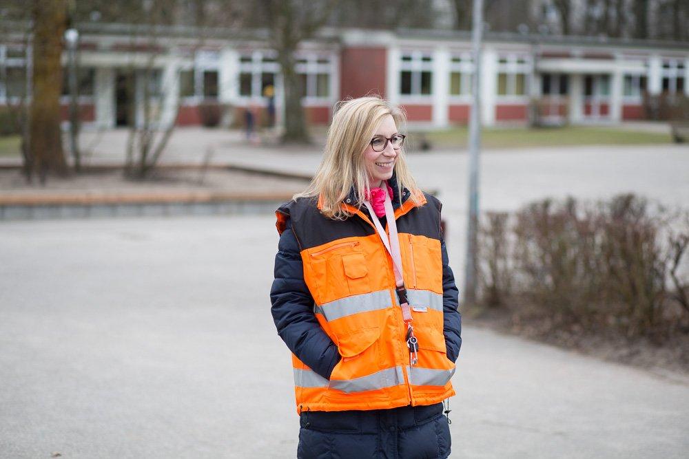 40 Stunden - Anna Halfmann macht Hofaufsicht