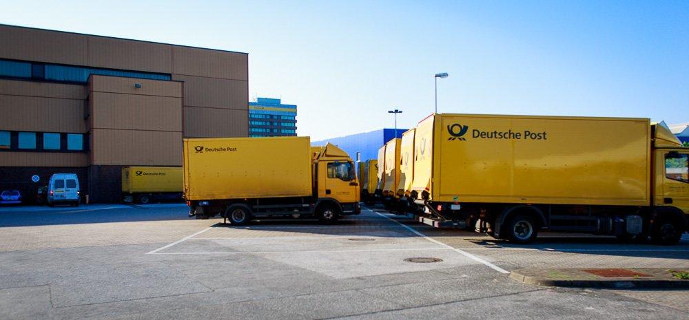 40 Stunden - DHL-Flotte