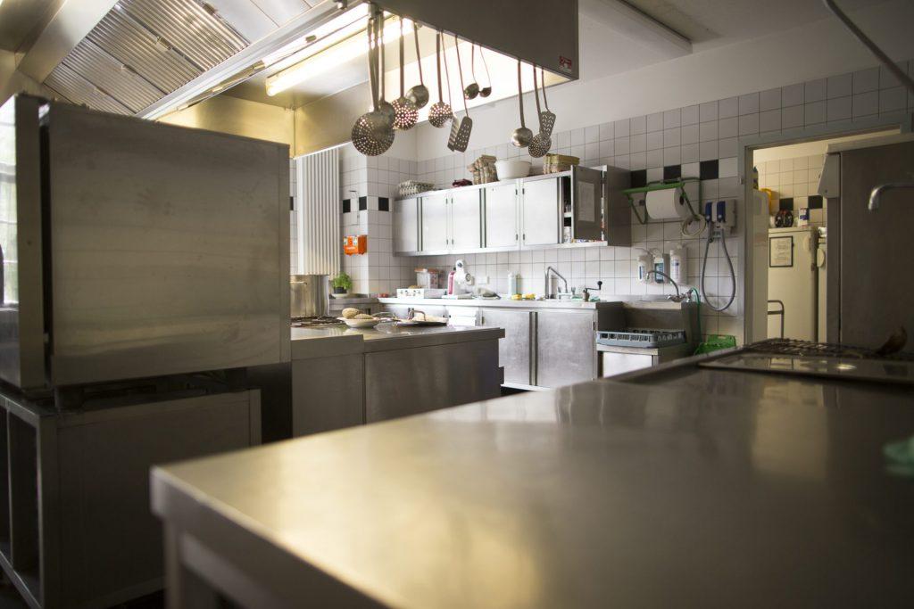 Küche auf der Feuerwehrwache