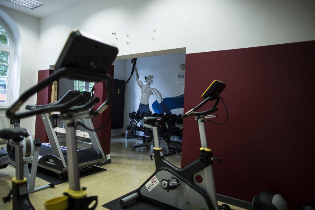 Fitnessraum auf der Feuerwehrwache
