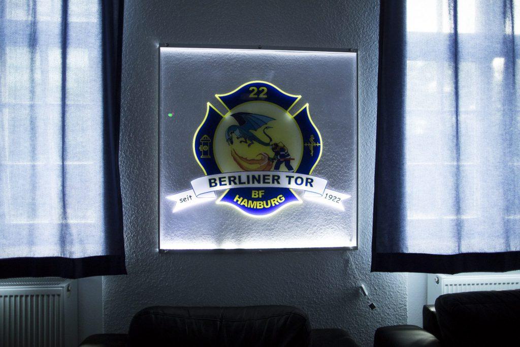 Wappen der Feuerwehrwache Berliner Tor