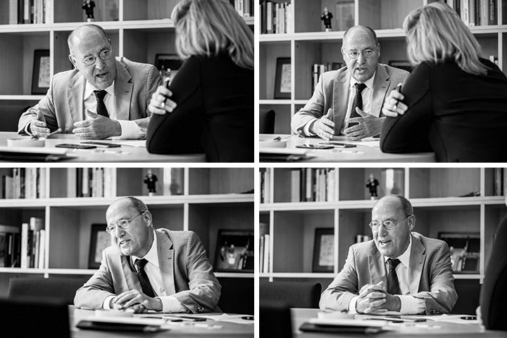 Bildstrecke von Gregor Gysi im Interview_40Stunden