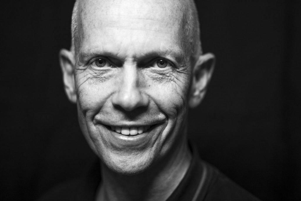 Schwarzweiß Portrait von Sifu Christian Wulf_40Stunden