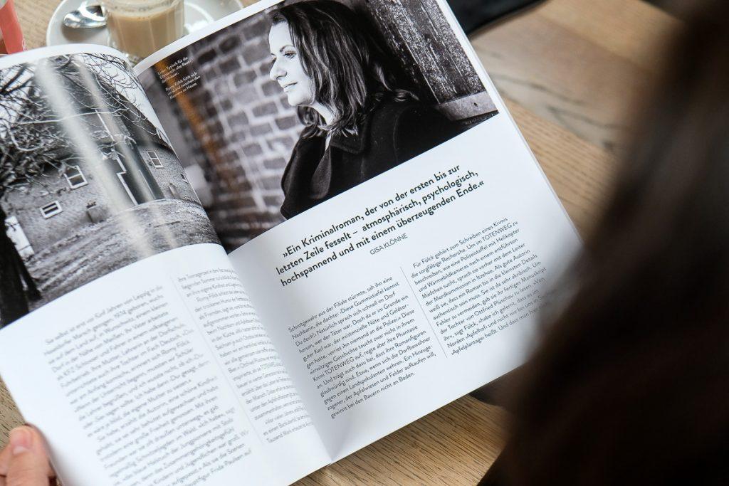 Zeitschrift mit einem Artikel zu Romy Fölck_40Stunden